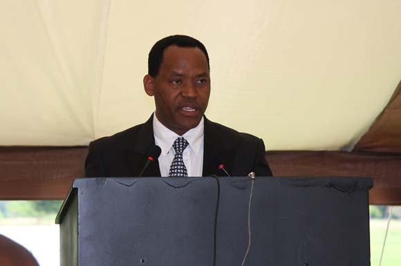 Lazaro Nyalandu, Tanzanian Minister for Natural Resources and Tourism/TRAFFIC