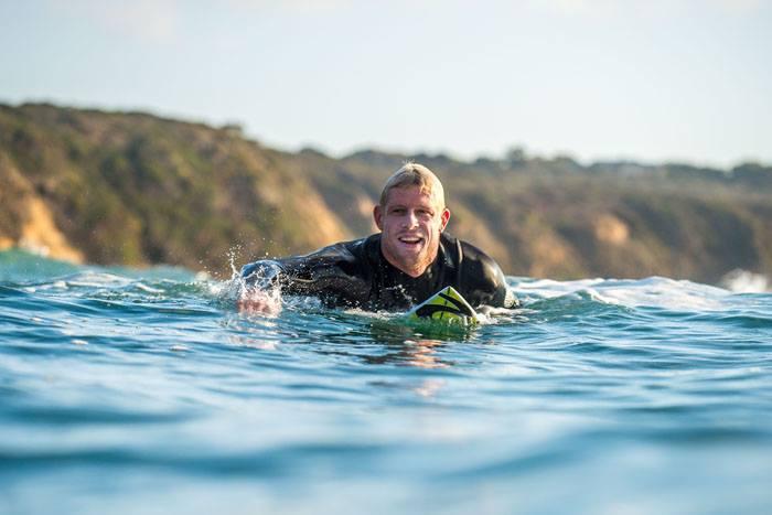 Mick Fanning at Bells Beach/Facebook