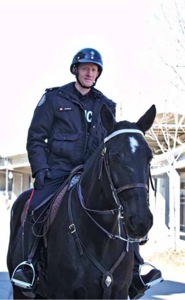 Constable David Moore and Viscount/Toronto Police Service