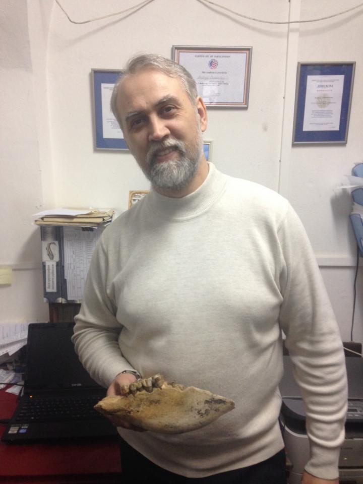 Andrey Shpanski, a paleontologist at Tomsk State University.