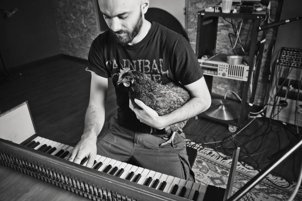 Igorrr in the spring recording and mixing a new album/Facebook