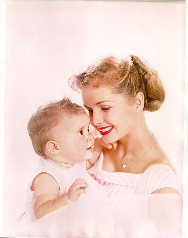 """Debbie Reynolds posted this photo in October, 2015 with a message to Carrie Fisher. """"Happy Birthday to my beautiful daughter.""""/Facebook"""